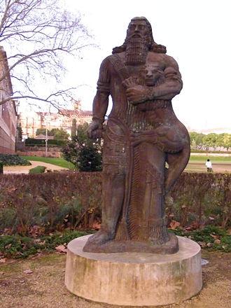 Gilgamesh_statue
