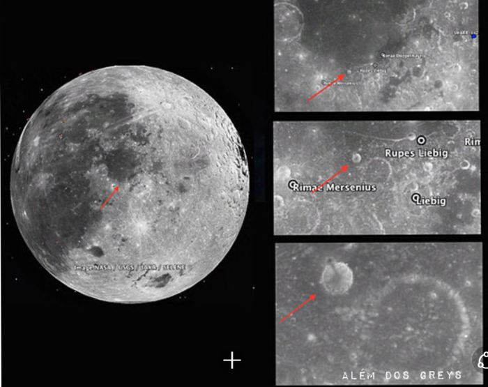 Possible Alien tower at the Moon location1