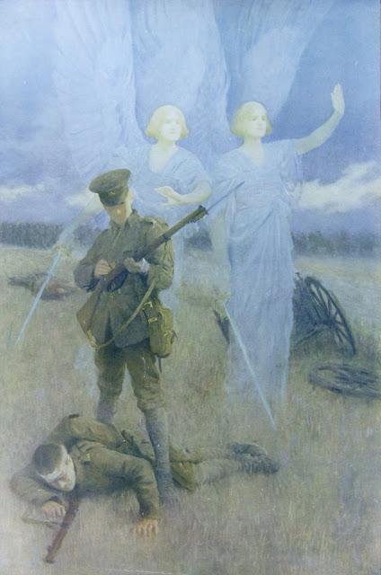 soldado e anjo