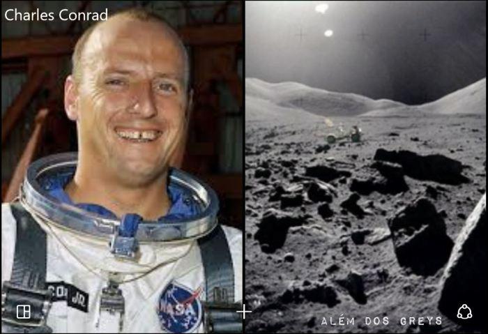 Charles conrad e lua